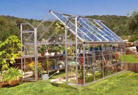 Extérieur Serre de Jardin en Aluminium et Polycarbonate Octave 9 m²