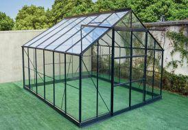 Serre de Jardin en Aluminium et Verre Trempé Green Protect Prima 10,92 m²