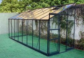 Serre de Jardin en Aluminium et Verre Trempé Green Protect Prima 9,63 m²
