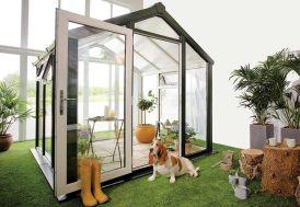 Jardin d'Hiver Skye en PVC-U et Double Vitrage 6,76 m²