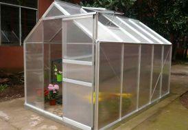 Serre de Jardin Polycarbonate 5,92 m² (190x312)
