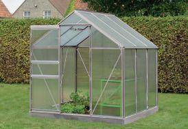 Serre Jardin Aluminium Polycarbonate Daisy 3,8 m² – Plusieurs Coloris