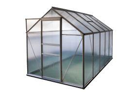 Serre de jardin en polycarbonate 4 mm avec structure aluminium