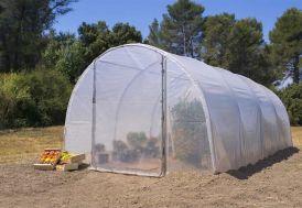 serre de jardin polyéthylène 1 porte Richel