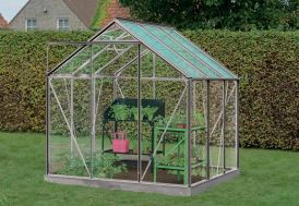 Serre Jardin Aluminium Verre Daisy 3,8 m² – Plusieurs Coloris