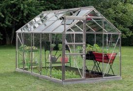 Serre Jardin Aluminium Verre Lily 6,2 m² – Plusieurs Coloris