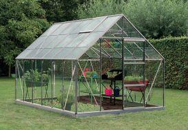 Serre Jardin Aluminium Verre Oliver 9,9 m² – Plusieurs Coloris