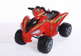 Quad Electrique Enfant Rouge 97x66x65cm