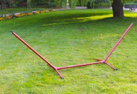 Support pour Hamac Advant 120 Rouge 300cm