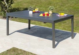 Table de Jardin Miami avec Rallonge (240/300x110cm)