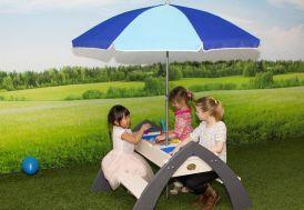 table de pique nique pour jeux eau et sable pour enfants