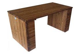 table de jardin en bois traité autoclave 200 cm de longueur et 30 mm d'épaisseur