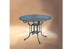 Table de Jardin Ronde Aluminium Teide-Marbella 90cm