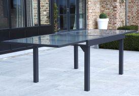 Table de Jardin Extensible Modulo 105x135/270x72cm (l,l,h) 4 coloris