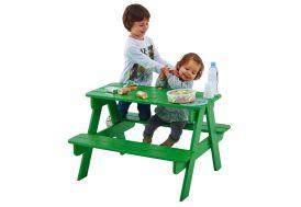Table Picnic Enfant Bois Verte