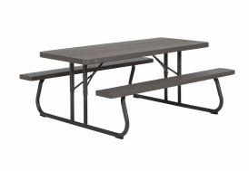 table pique nique en résine lifetime pliante