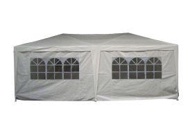 Tente de Réception Blanche 6x3m 140gr/m²