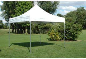 Tente de Réception Pliante 3x3 Aluminium + Toile 300gr/m²