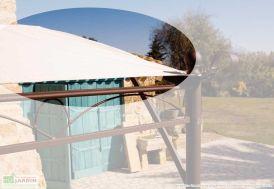 Toile Déperlante pour Extension 2x3 m (Tonnelle Adossée Illusion 4x3m)