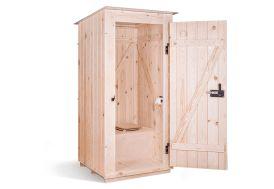 Toilettes sèches extérieures à séparation KersaBœm Trobolo
