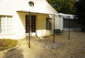 Tonnelle Fer Forge Capri Adossée 2x3 + Toile