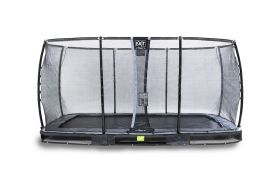 Trampoline Enterré avec Filet Elegant Premium Ground 244 x 427 cm