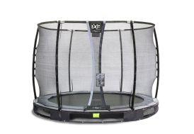 Trampoline Enterré avec Filet Elegant Premium Ground ø 305 cm
