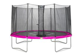 Trampoline Twist + Filet de Sécurité Ø 366cm (pls couleurs)