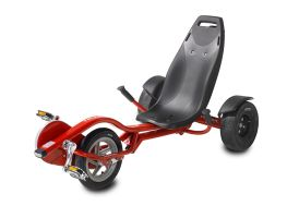 Tricycle Couché pour Enfant Exit Toys  Trike Pro 100 Rouge