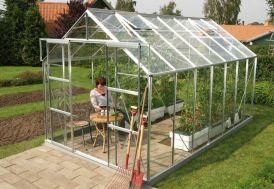 Serre de jardin en verre URANUS 9900 Dianthus