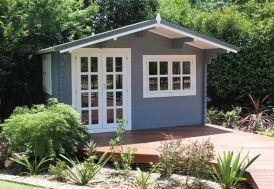 Abri de Jardin Bois Wales (399x299x270) 44 mm